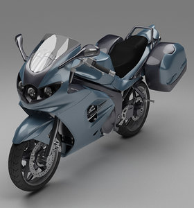 motor bike 3D model