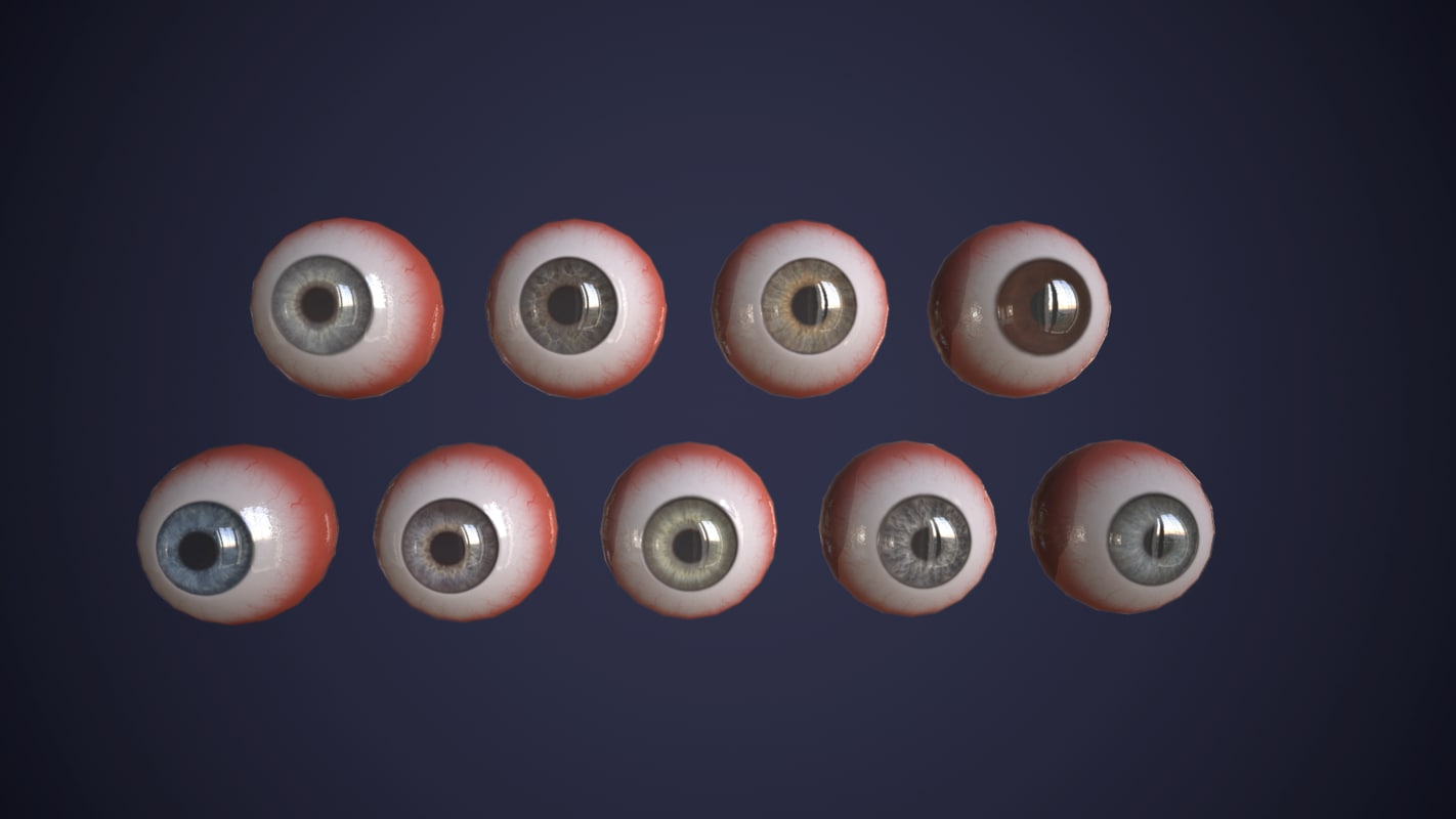 realtime eyes pack 3D