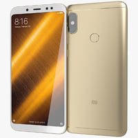 3D realistic xiaomi redmi note model