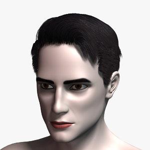 hair cards 7 human 3D