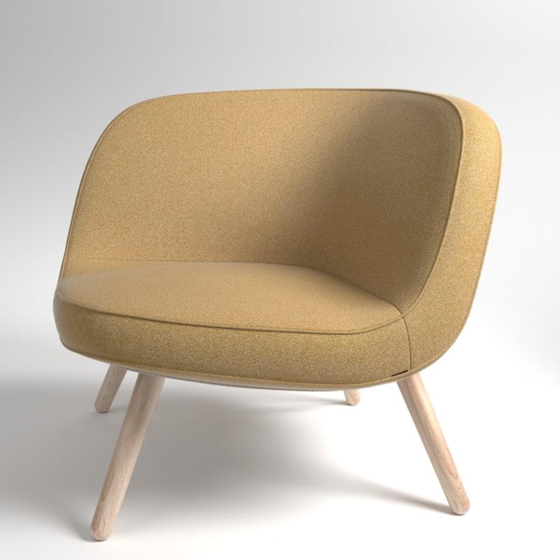 interior fritzhansen via57 fabric model