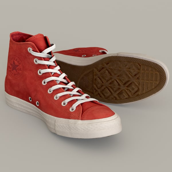 converse star included 3D model