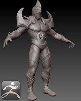 human rogue 3D