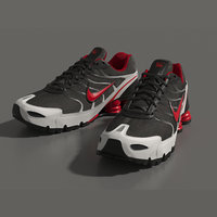 3D sneakers nike turbo