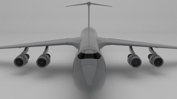 military cargo model