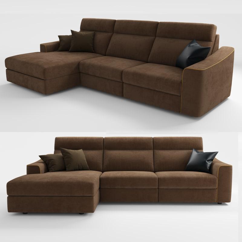 3D marlon sofa