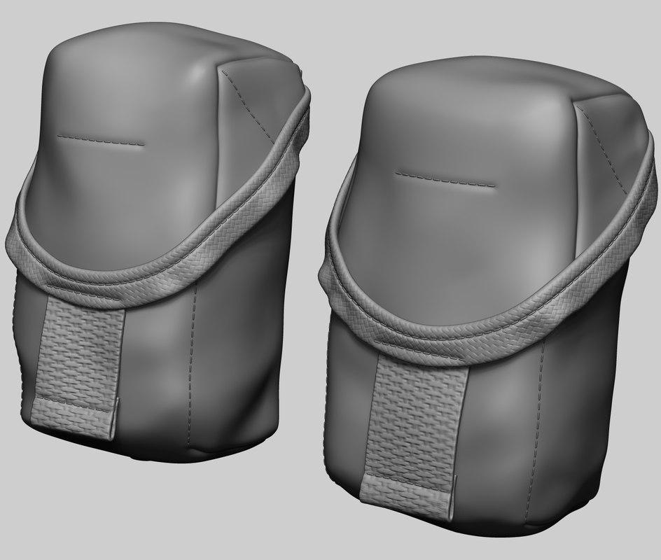 grenade pouch 3D model