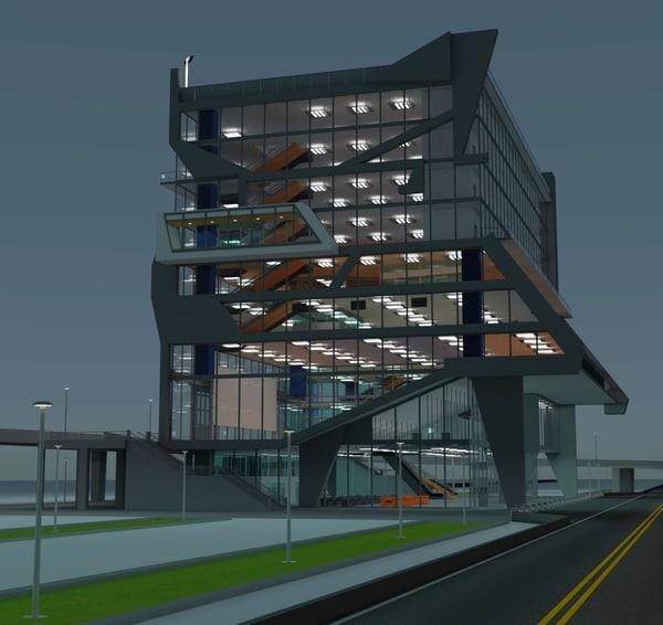 3D building 5