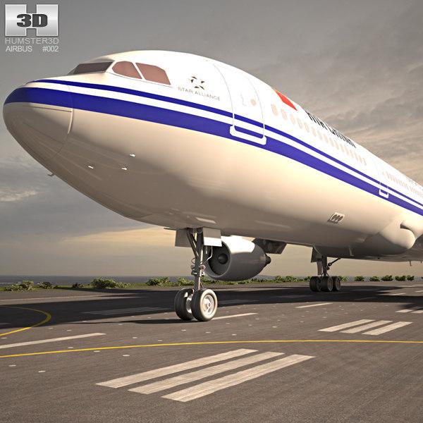3D airbus a330 330