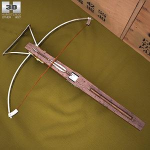 crossbow cross bow 3D