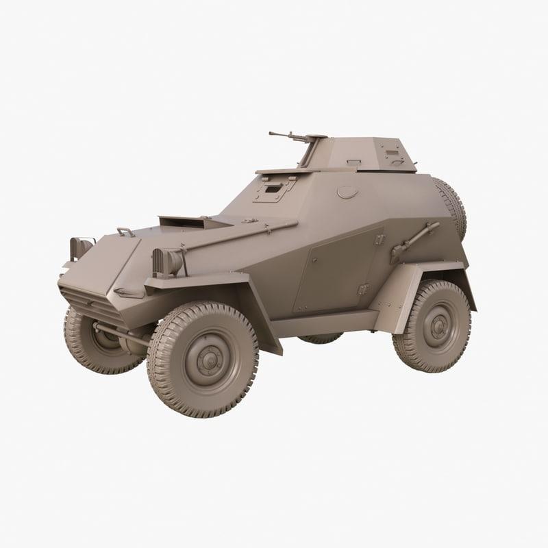 ba 64 soviet clay model