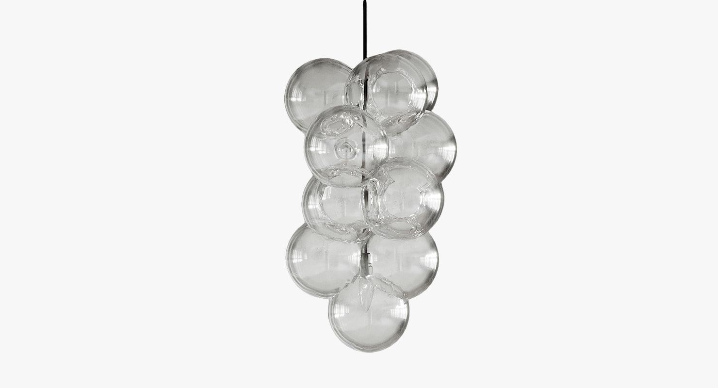 bubble chandelier 3D model