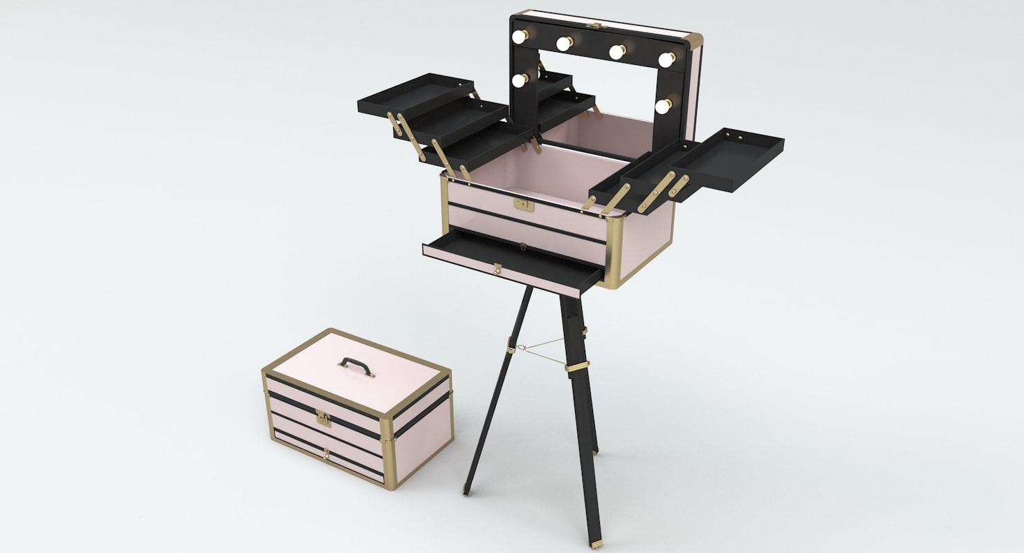 Superieur ... 3D Portable Makeup Stand Station Model ...