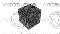 3D cube circuit