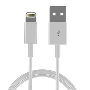 3D apple lightning usb cable