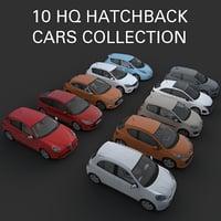 3D hatchback cars alfa romeo model
