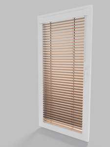 window blinds jalousie 3D