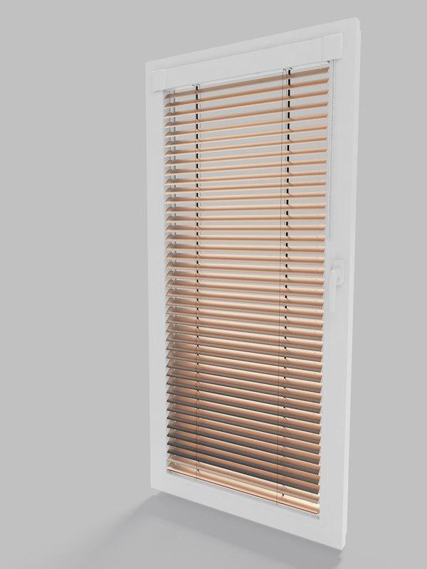 window blinds jalousie 3D