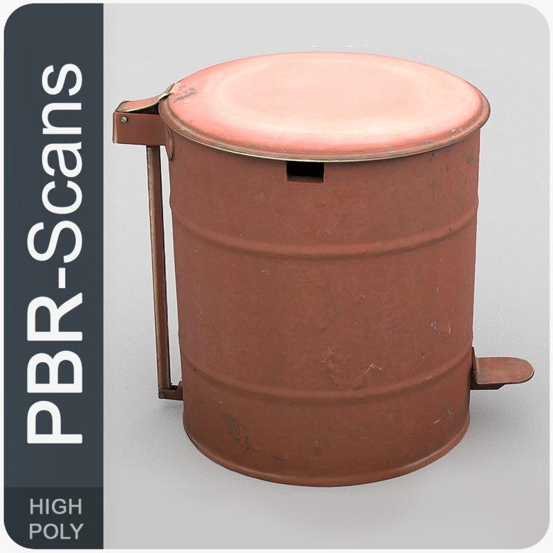 3D 39 rubbishbin hi