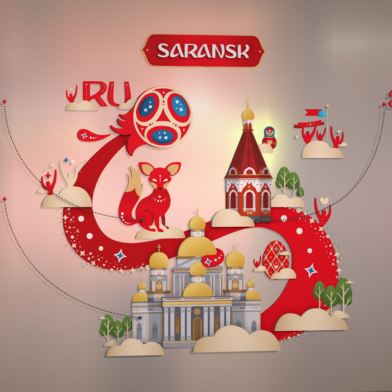 saransk russia 3D model