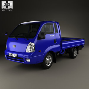 3D model kia bongo pickup