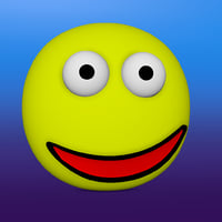 smiley face 3D