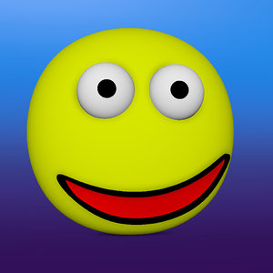 smiley face 3D