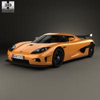 3D model car 2008