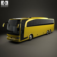 3D mercedes-benz travego m model