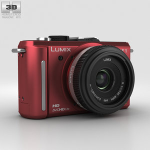3D panasonic lumix dmc-gf1