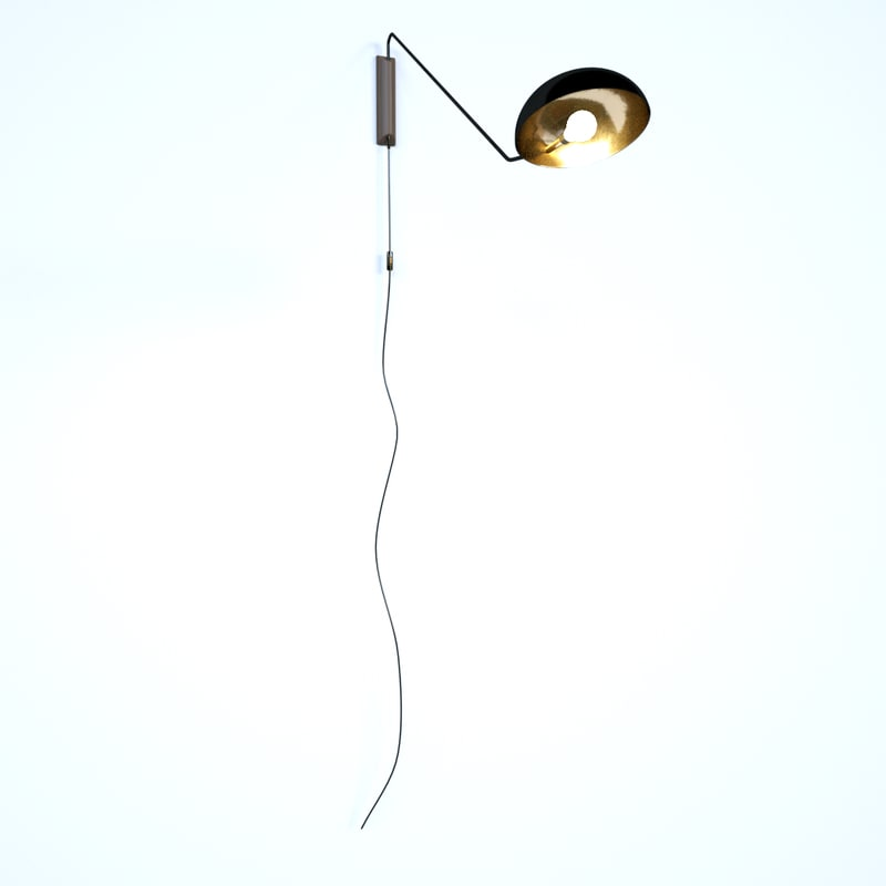 wall lamp 3D