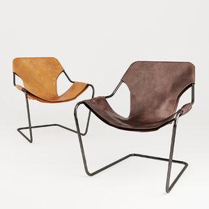 3D paulistano chair