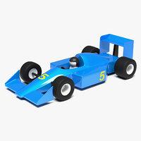 f1 racer 3D model