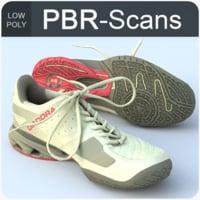 3D sneaker scans model