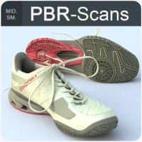 sneaker pbr scans 3D
