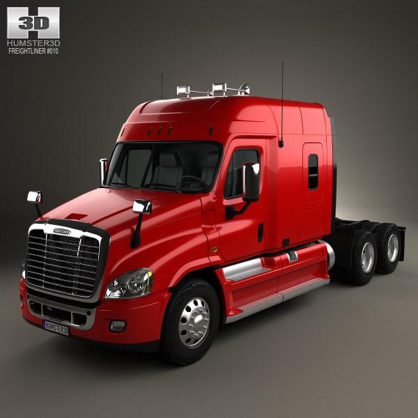 freightliner cascadia xt 3D model