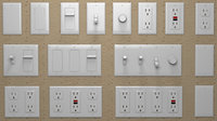 Modular Pack: Electrical Outlets & Switches U.S