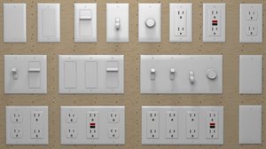 3D electrical outlets modular :