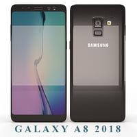 3D samsung galaxy a8 2018