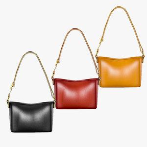 shoulder bag 01 3D model