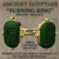 Egyptian Turning Ring