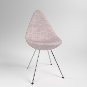 3D interior fritzhansen drop clothe