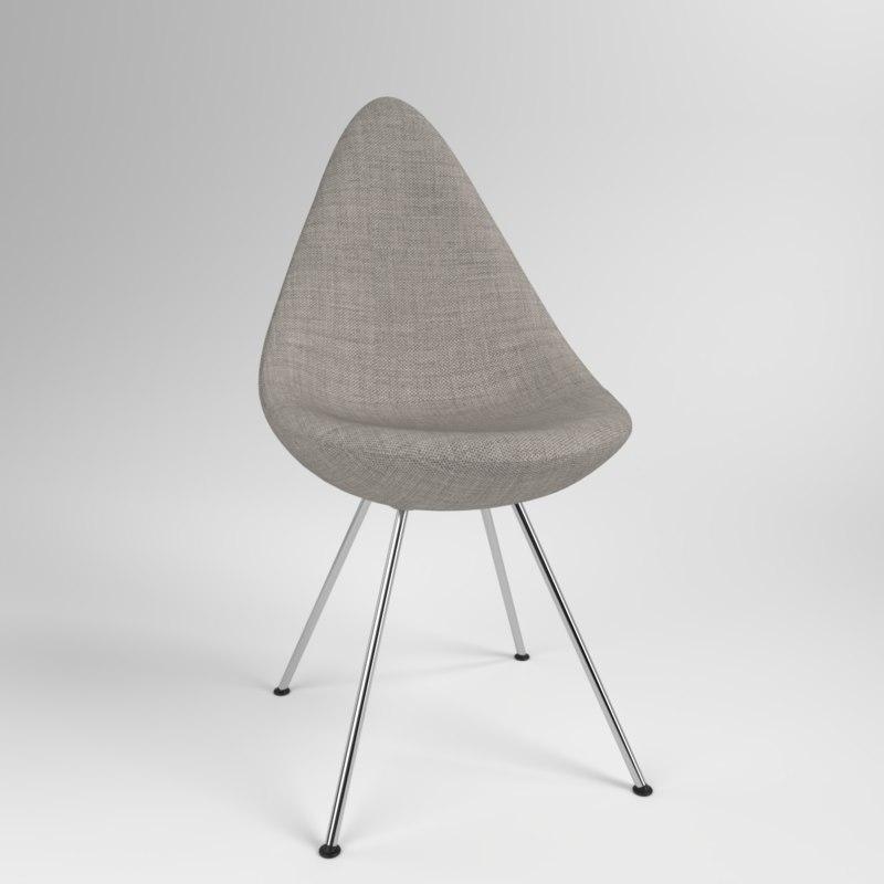 interior fritzhansen drop clothe 3D model