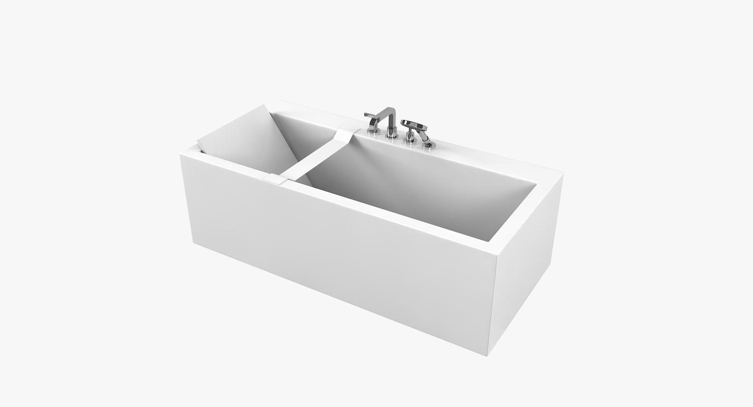 3D antonio lupi biblio bath