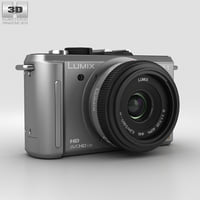 panasonic lumix dmc-gf1 3D model
