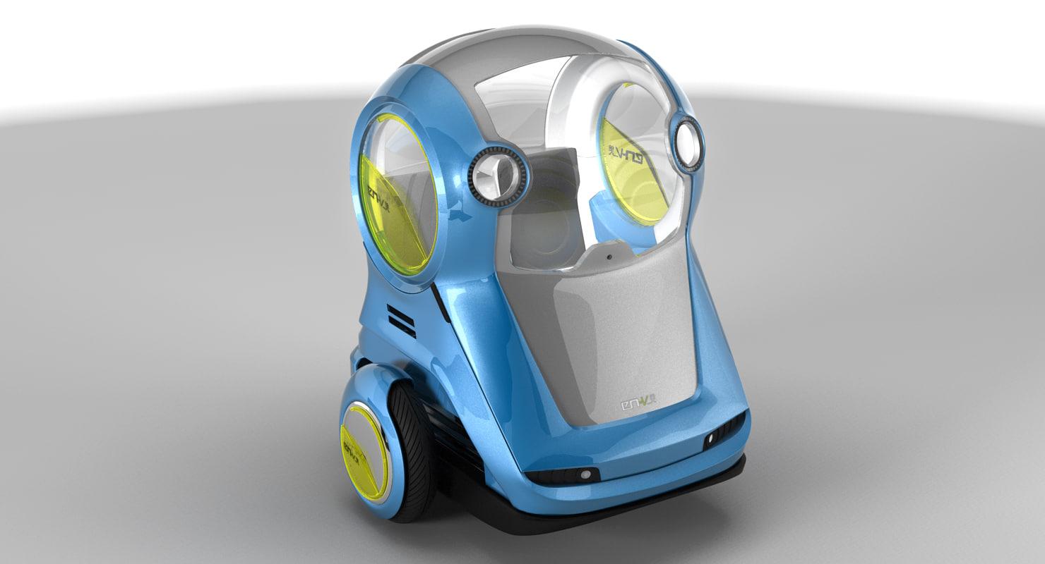 3D en-v vehicle