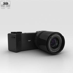 sigma quattro dp0 3D model