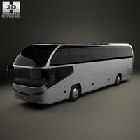neoplan cityliner hd 3D model