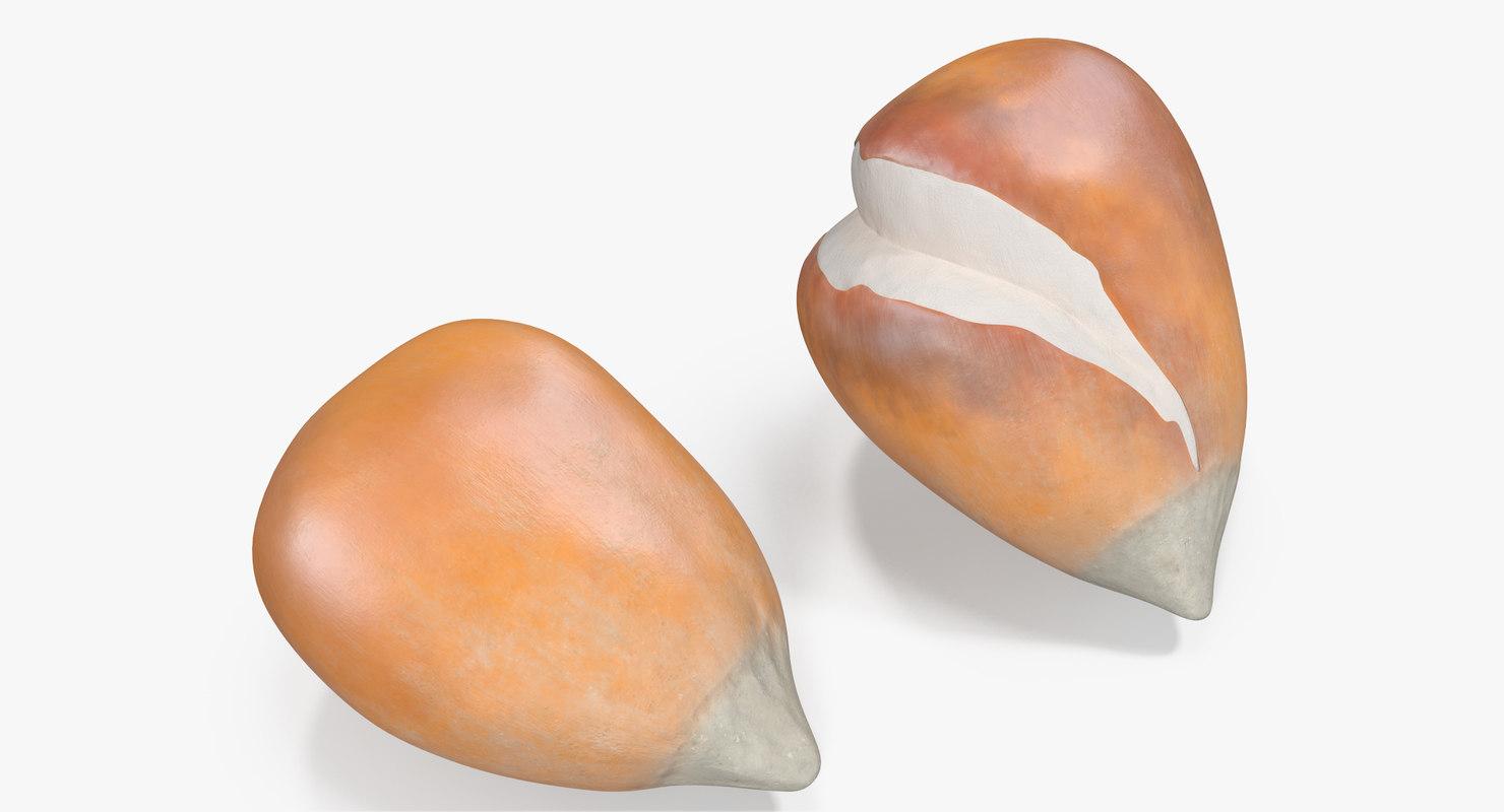 3D popcorn kernels