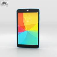 3D model lg g pad